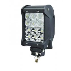 LED svetlo obdĺžnikové, 12x3W, 99x93x167mm