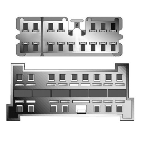 Kabeláž pre HF PARROT / OEM Hyundai 02-05, KIA -2005