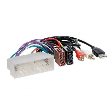Konektor ISO Hyundai / Kia 2017- + USB and AUX konektor