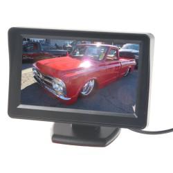 LCD monitor 4,3 čierny na palubnú dosku