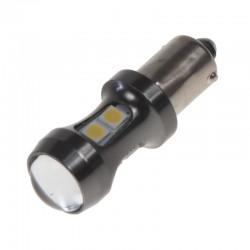 LED BA9s biela, 12-24V, 9LED / 3030SMD
