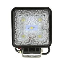 LED svetlo štvorcové, 5x3W, 128x110mm