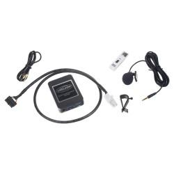 Hudobný prehrávač USB / AUX / Bluetooth Toyota (5 + 7)